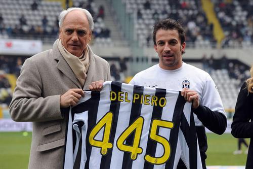 Alex del Piero feiert seinen 445. Geburtstag