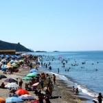Elios - So voll ist der Strand nur am Wochenende