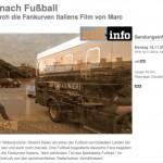 """TV-Doku: """"Verrückt nach Fußball. Eine Reise durch die Fankurven Italiens."""""""