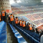 Inter - Fiorentina, Festnahme der Viola ohne Tessera