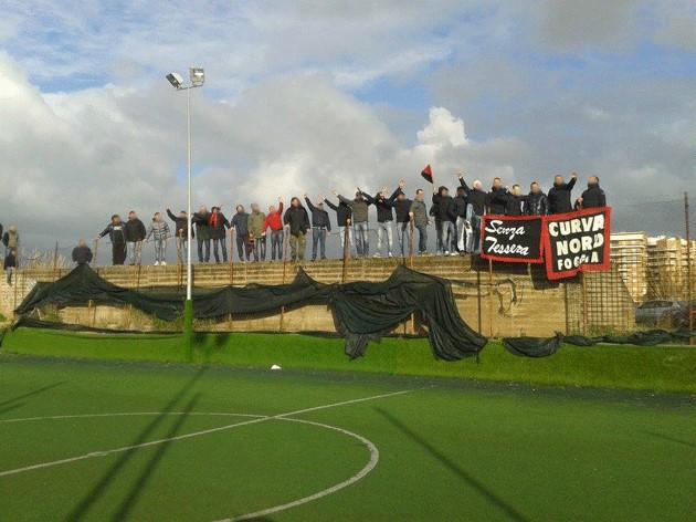 Ultras 1980 Foggia in Aprilia