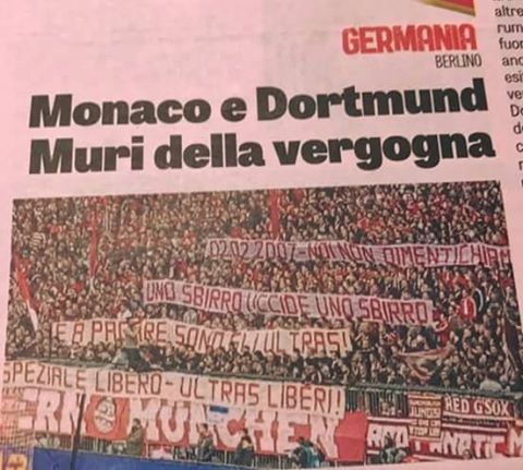 Gazzetta dello Sport, Februar 2017