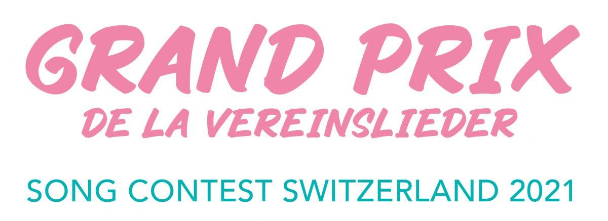 Grand Prix de la Vereinslieder Schriftzug